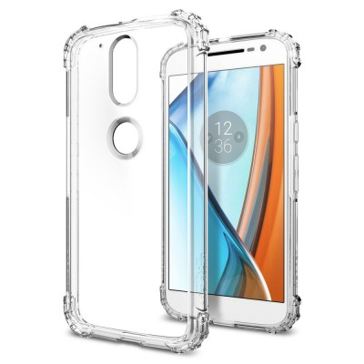 Spigen Moto G4 / G4 Plus Crystal Shell Clear (M01CS20579)