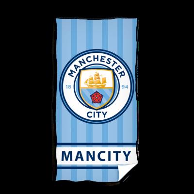 Μεγάλη πετσέτα Manchester City F.C. 75x150 Επίσημο προϊόν