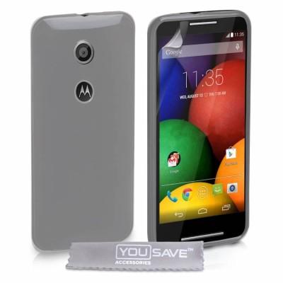 Θήκη σιλικόνης για Motorola Moto E διάφανη by YouSave