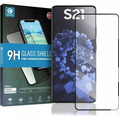 Mocolo TG+ Full Glue Tempered Glass - Fullface Αντιχαρακτικό Γυαλί Samsung Galaxy S21 5G - Black (SX6054)
