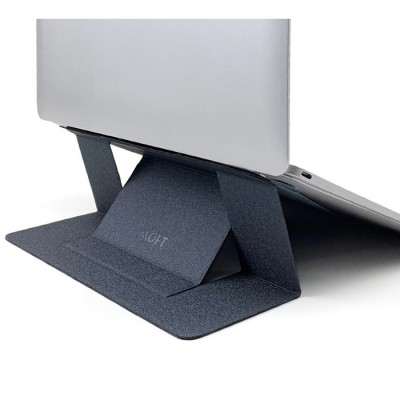 "Allocacoc Moft Adhesive Foldable Laptop Stand - Βάση Αλουμινίου για Laptop 11.6"" - 15.6"" - Grey"