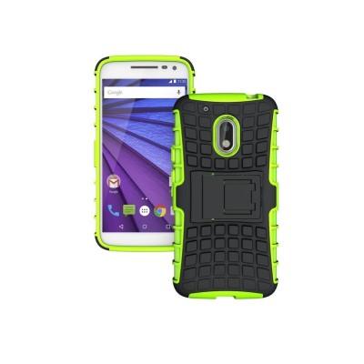 Ανθεκτική Θήκη Motorola Moto G4 / G4 Plus πράσινη