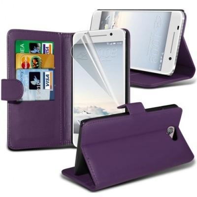 Μωβ Θήκη Πορτοφόλι HTC One A9