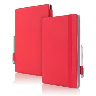Incipio Surface Pro 3 & 4 Roosevelt Folio Red (MRSF-070-RED)