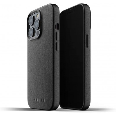 MUJJO Full Leather Case - Δερμάτινη Θήκη Apple iPhone 13 Pro Max - Black (MUJJO-CL-017-BK)