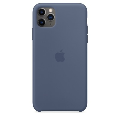 Official Apple Silicon Cover - Θήκη Σιλικόνης iPhone 11 Pro Max - Alaskan Blue (MX032ZM/A)