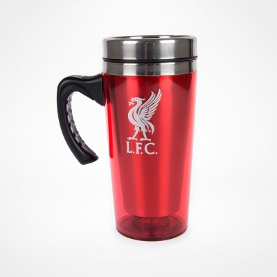 Ανοξείδωτη Κούπα ταξιδιού Liverpool με χερούλι -επίσημο προϊόν