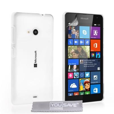 Θήκη για Microsoft Lumia 535 διάφανη