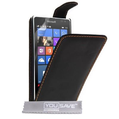 Θήκη για Microsoft Lumia 532 μαύρη