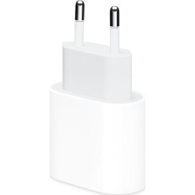 Official Apple Ταχυφορτιστής Ταξιδιού / Αντάπτορας Με 1x Type-C - 20W - White (MHJE3ZM/A)
