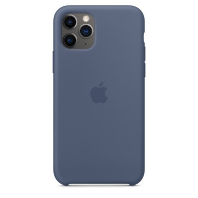 Apple Official Silicon Cover - Θήκη Σιλικόνης iPhone 11 Pro - Alaskan Blue (MWYR2ZM/A)