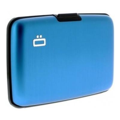 Ögon θήκη καρτών-πορτοφόλι με RFID protection -μπλε