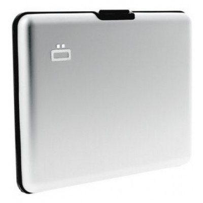 Ögon θήκη καρτών-πορτοφόλι με RFID protection - Stockholm Big Silver