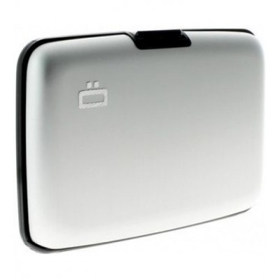 Ögon θήκη καρτών-πορτοφόλι με RFID protection - Stockholm Silver