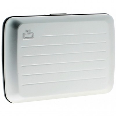 Ögon θήκη καρτών-πορτοφόλι με RFID protection - Stockholm V2 Silver