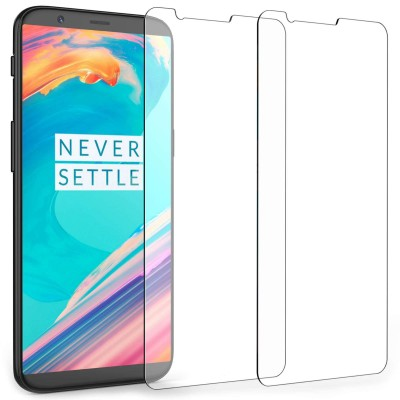 Caseflex Tempered Glass Αντιχαρακτικό Γυαλί Οθόνης για OnePlus 5T (2 τεμάχια)