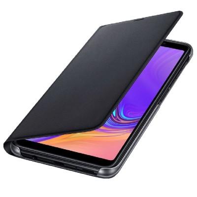 Official Flip Wallet - Θήκη Samsung Galaxy A7 2018 - Black (EF-WA750BLEGWW)