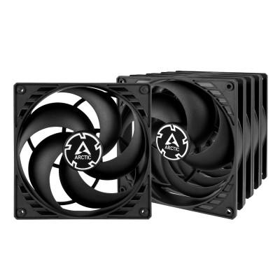Arctic P14 PWM PST Value Pack - 5 Fans - Case Fan 4pin -140mm black/black