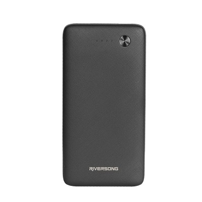Riversong Powerbank Φορητή Μπαταρία Φόρτισης - 20000mAh - Black (200-104-427)