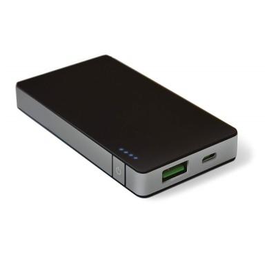 Celly Powerbank Φορητή Μπαταρία Φόρτισης - 4000mAh - Black (PB4000ALUSV)