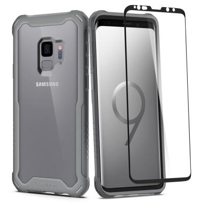Spigen Galaxy S9 Hybrid 360 Titanium Gray (592CS23040)