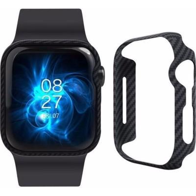Pitaka Air Case - Aramid Θήκη Apple Watch SE/6/5/4 (44mm) - Black (KW1002A)