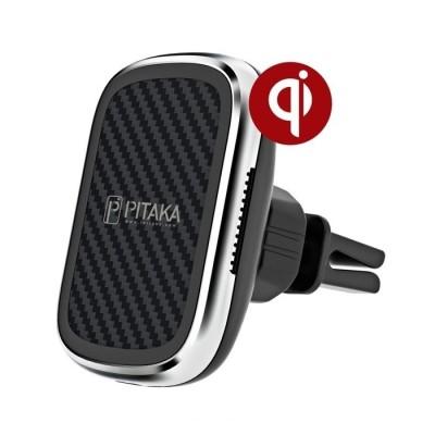 Pitaka MagEZ Air Vent Car Mount Qi Wireless - Μαγνητική Βάση Ασύρματης Φόρτισης για Αεραγωγούς Αυτοκινήτου - Black (CM3001Q)