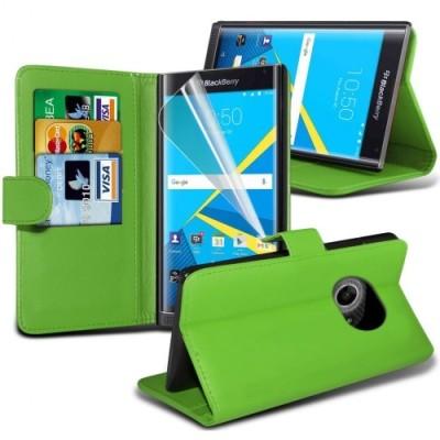 Πράσινο Πορτοφόλι Θήκη Blackberry Priv