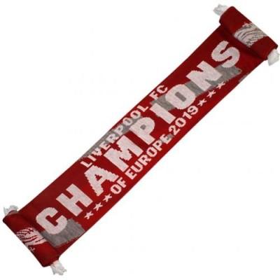 Κασκόλ Liverpool Champions - Επίσημο προϊόν