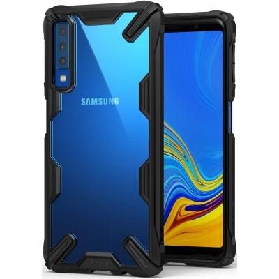 Ringke Fusion-X Θήκη Samsung Galaxy A7(2018) με TPU Bumper - Black