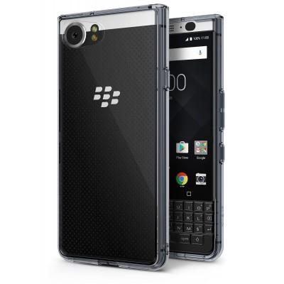 Ringke (Fusion) Διάφανη Θήκη Blackberry KeyOne Smoke Black