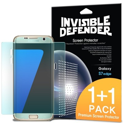 Ringke Invisible Defender 2 Pack Screen Protector Samsung Galaxy S7 Edge