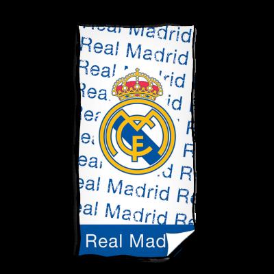 Πετσέτα μεγάλη Real Madrid λευκή 75x150- Επίσημο προϊόν