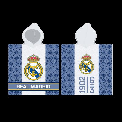 Real Madrid Παιδική πετσέτα πόντσο 60 x 120 cm - επίσημο προϊόν