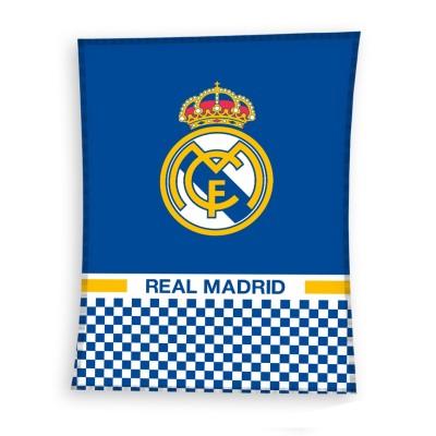 Fleece κουβέρτα Ρεάλ Μαδρίτης 140 Χ 110 cm  - Επίσημο προϊόν (100-100-884)