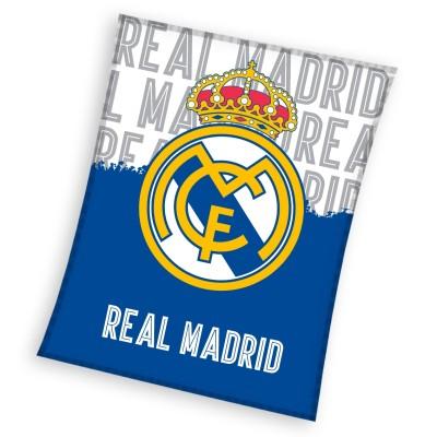 Fleece κουβέρτα Ρεάλ Μαδρίτης 160 Χ 130 cm - Επίσημο προϊόν