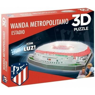 3D Puzzle Γήπεδο Atletico Madrid Wanda Metropolitano με LED φωτισμό 97 τεμ. - (100-101-010)