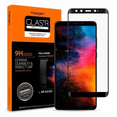 Spigen Xiaomi Mi A2 / 6X Temprered Glass GLAS.tR SLIM FC (S13GL26120)