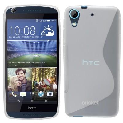 Θήκη σιλικόνης για HTC Desire 626 ημιδιάφανη