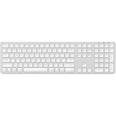 Satechi Bluetooth Keybord για Mac - Ασύρματο Πληκτρολόγιο Αλουμινίου Bluetooth - Silver (ST-AMBKS)
