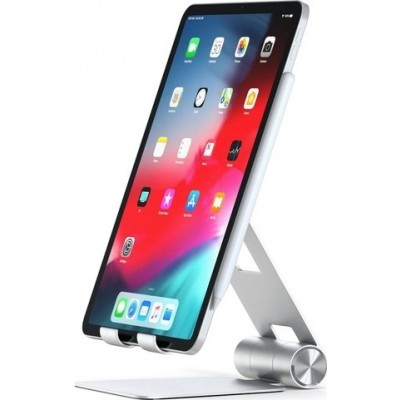 "Satechi R1 Mobile Multi-Angle Stand - Βάση Αλουμινίου για Smartphones & Tablets εώς 13.3"" - Silver (ST-R1)"
