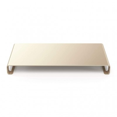 Satechi Slim Aluminum Monitor Stand - Βάση Οθόνης / Laptop - Gold (ST-ASMSG)