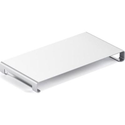 Satechi Slim Aluminum Monitor Stand - Βάση Οθόνης / Laptop - Silver (ST-ASMSS)
