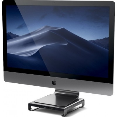 Satechi Type-C Aluminum Monitor Stand Hub for Imac- Βάση Αλουμινίου για Οθόνη Imac - Space Gray (ST-AMSHM)