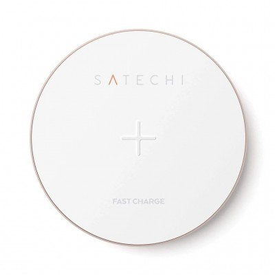 Satechi Wireless Charger Pad - Ασύρματος Φορτιστής Qi - Rose Gold (ST-WCPR)