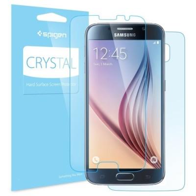 Spigen Samsung Galaxy S6 Screen Protector Crystal (SGP11306) -2 τεμάχια
