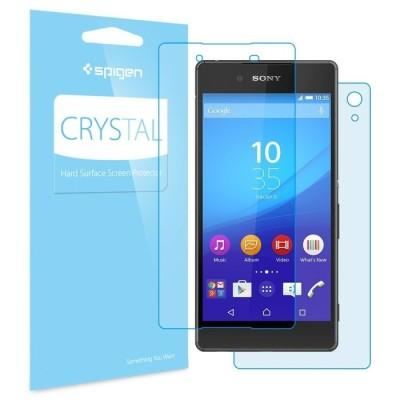 Spigen Xperia Z3+ / Z4 Screen Protector Crystal (SGP11538)