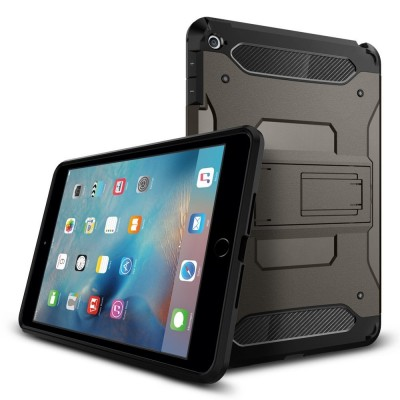 Spigen iPad Mini 4 Case Tough Armor Gunmetal (SGP11737)