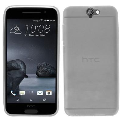 Θήκη σιλικόνης για HTC One A9 ημιδιάφανη