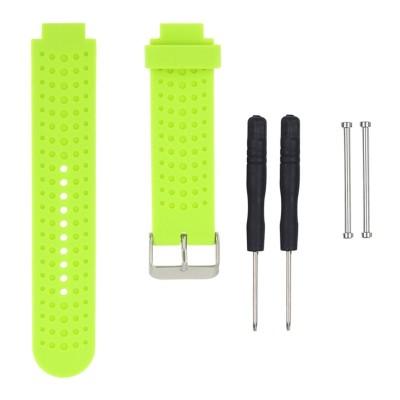Πράσινο λουράκι σιλικόνης για Garmin Forerunner 230/235/630/220/620/735 - OEM